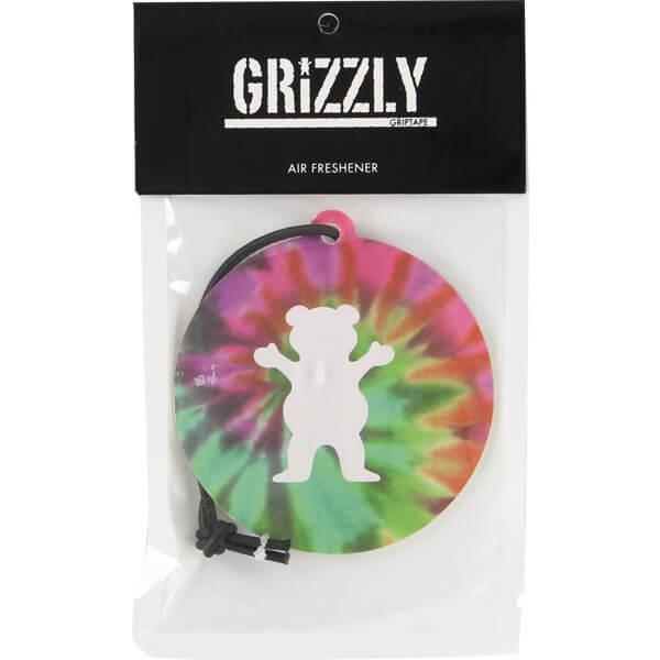 Grizzly Grip Tape Tie Dye Air Freshener