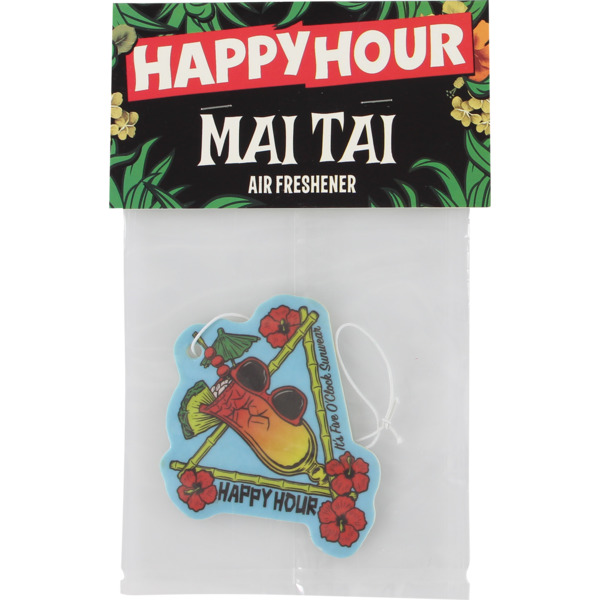 Happy Hour Skateboards Mai Tai Air Freshener
