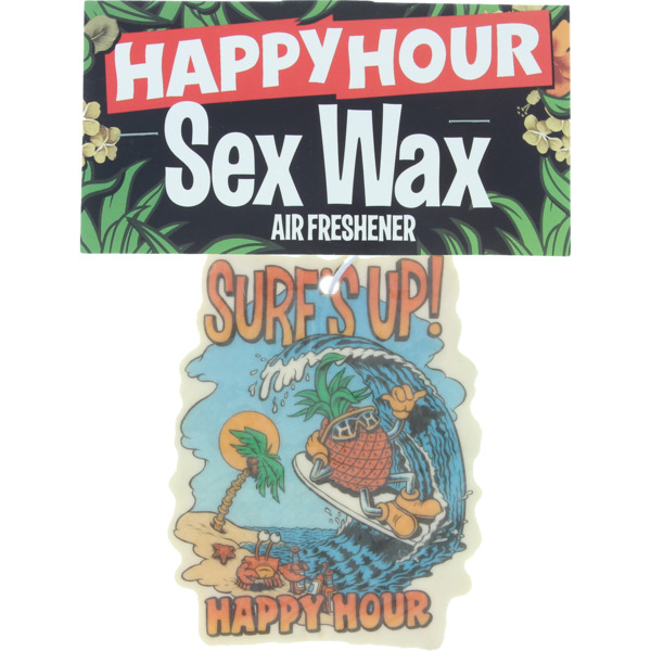 Happy Hour Skateboards Surf Up Air Freshener