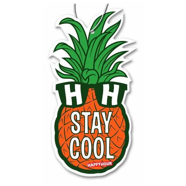 Happy Hour Skateboards Mr. Pineapple Air Freshener