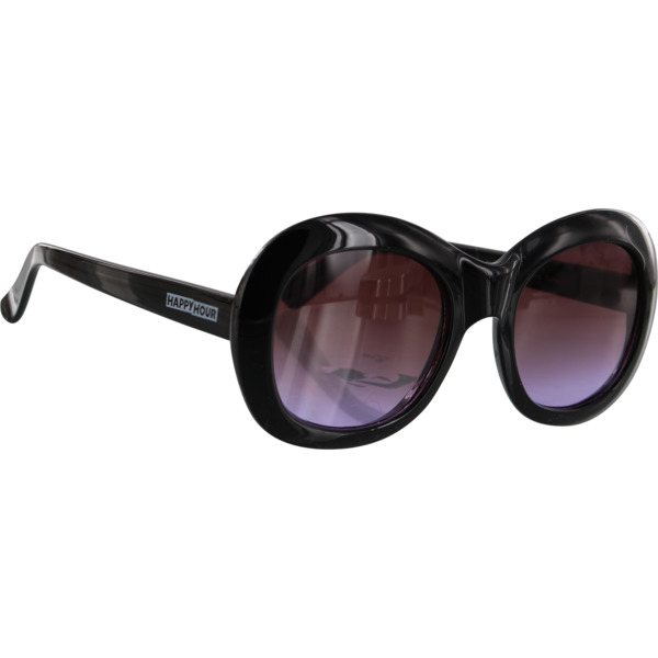 Happy Hour Skateboards Bikini Beach Black / Purple Fade Sunglasses