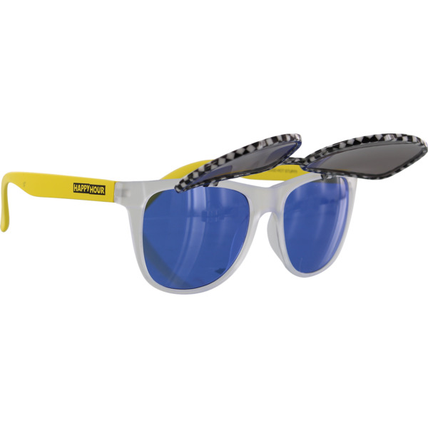 Happy Hour Skateboards Flip Up Banana Splits Sunglasses