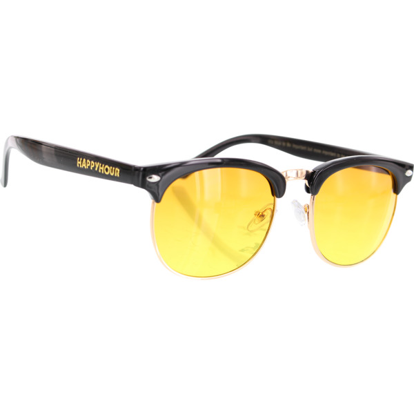 Happy Hour Skateboards G2 Black Orange Fade Sunglasses