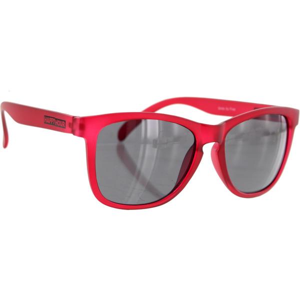 Happy Hour Skateboards Mamba Frost Burgundy Sunglasses