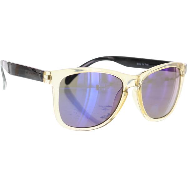 Happy Hour Skateboards Mamba Champagne Black Sunglasses
