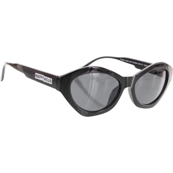 Happy Hour Skateboards Mind Melters Provost Gloss Black Sunglasses