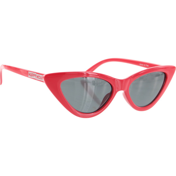Happy Hour Skateboards Space Needle Lipstick Red Sunglasses