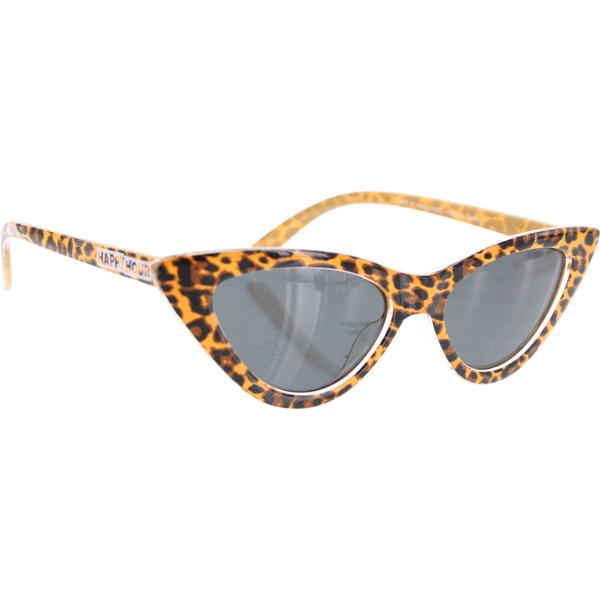Happy Hour Skateboards Space Needle Delfino Leopard Sunglasses