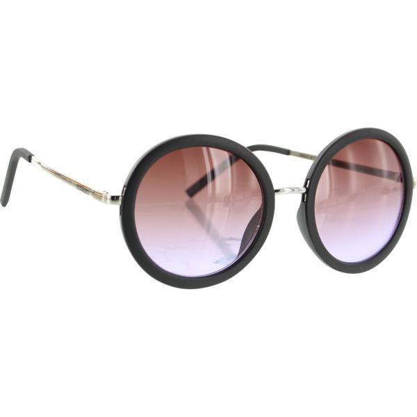 Happy Hour Skateboards Square Matte Black Purple Fade Lens Sunglasses