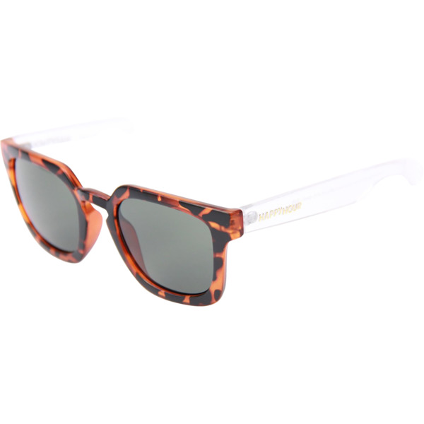 Happy Hour Skateboards Wolf Pups Clear Frost Tortoise Sunglasses