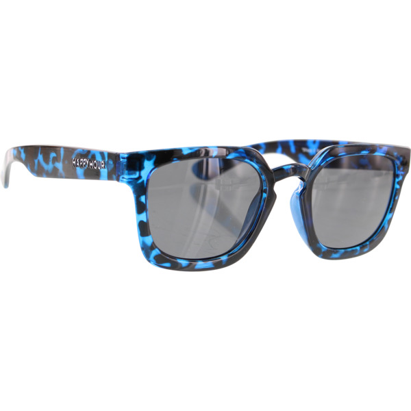 Happy Hour Skateboards Wolf Pups Glick Blue Tortoise Sunglasses