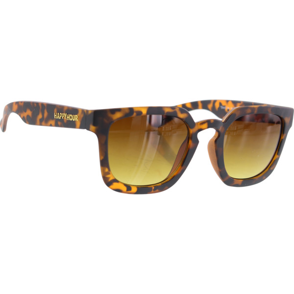Happy Hour Skateboards Wolf Pups Nate Frosted Tort Mate Sunglasses
