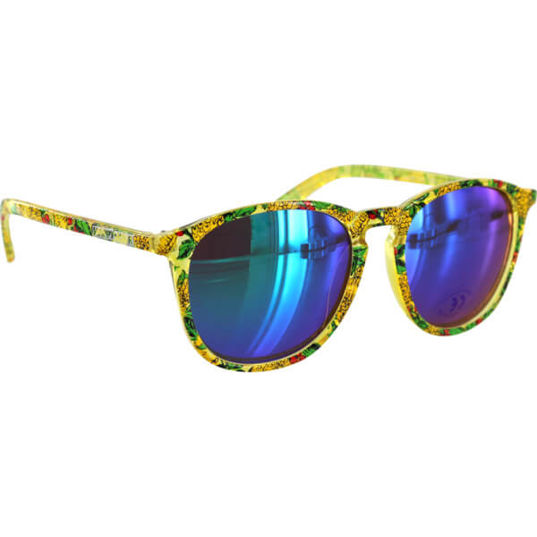 Happy Hour Skateboards Jon Dickson Flap Jacks Pineapple Sunglasses