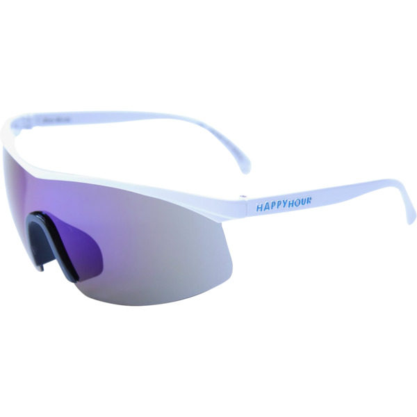 Happy Hour Skateboards Fire Birds White Lightning Sunglasses