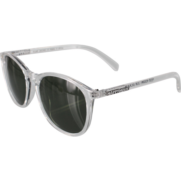 Happy Hour Skateboards Flap Jacks Clear Gloss / G-15 Sunglasses