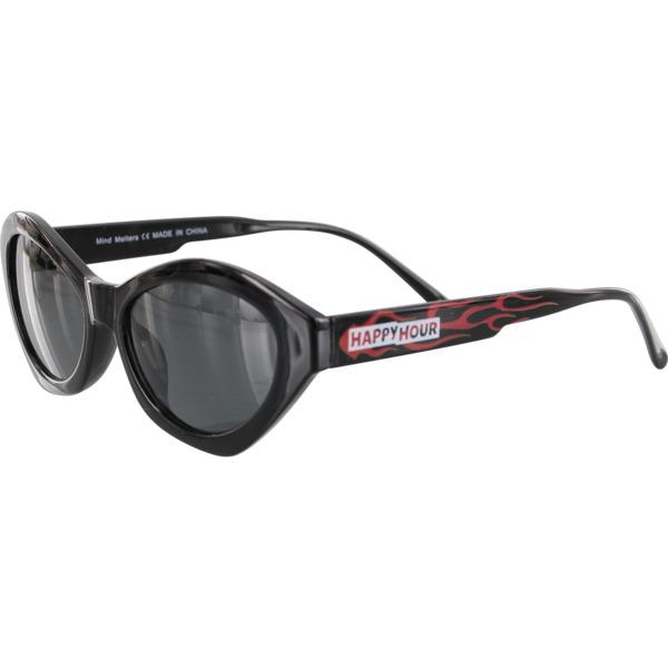 Happy Hour Skateboards Colin Provost Mind Melters Black Flame Sunglasses