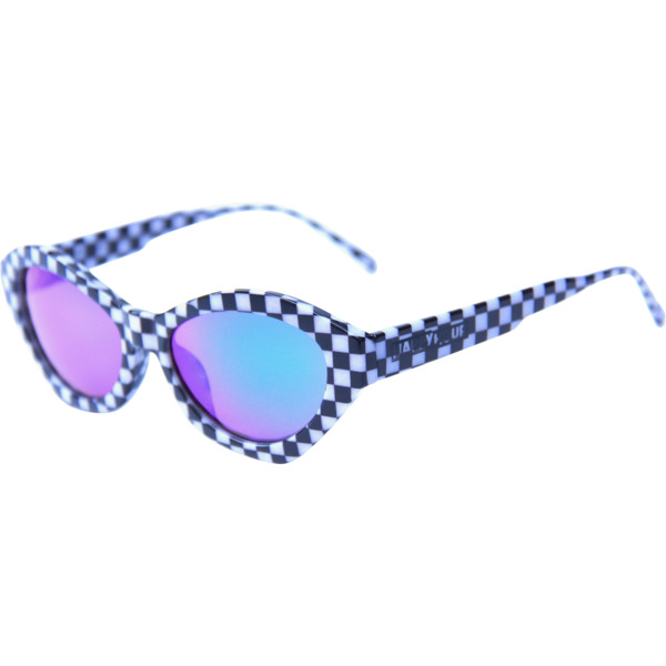 Happy Hour Skateboards Colin Provost Mind Melters Checker Sunglasses