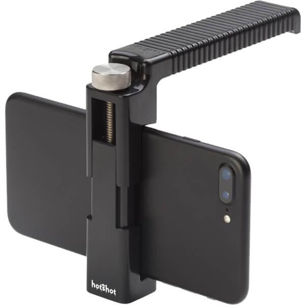 Hotshot Handle Black Smartphone Mountable Handle
