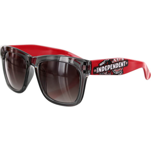 Independent Sticker Pack Trans Smoke Red Sunglasses