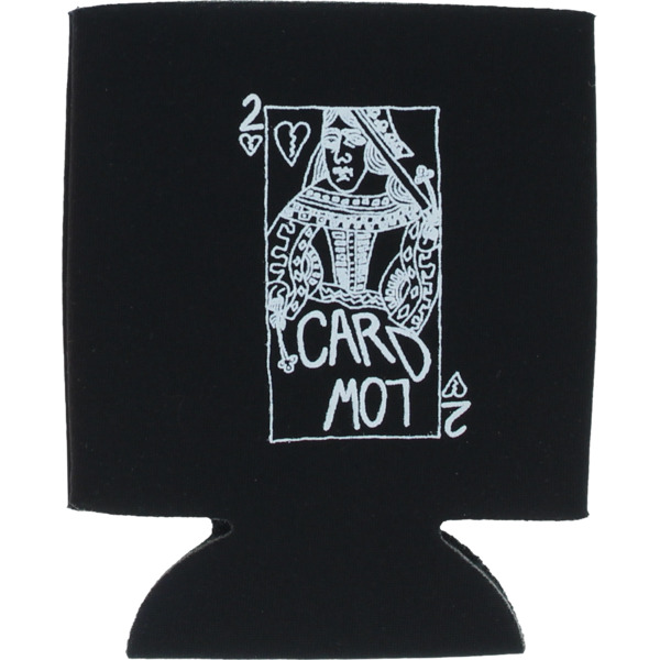 Lowcard Mag Queen Card Coozie Black Drinkware