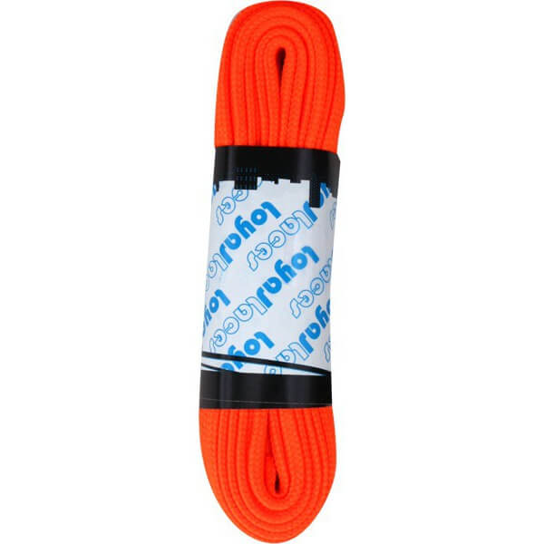 Loyal Laces Single Set Neon Orange Shoe Laces
