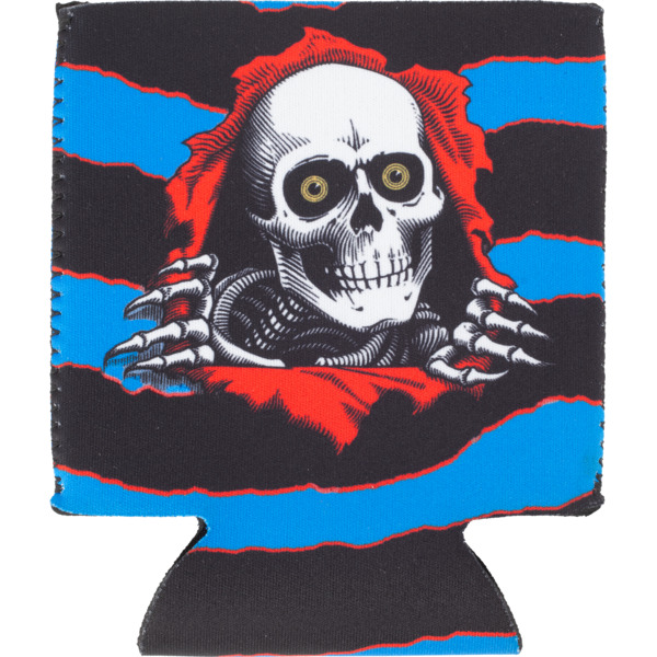 Powell Peralta Ripper Blue Coozie