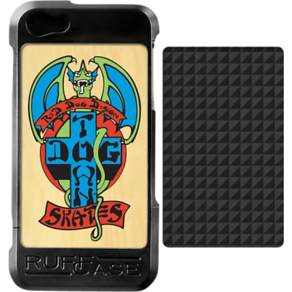 Ruffcase Dogtown Red Dog / Carbon iPhone 5 Case