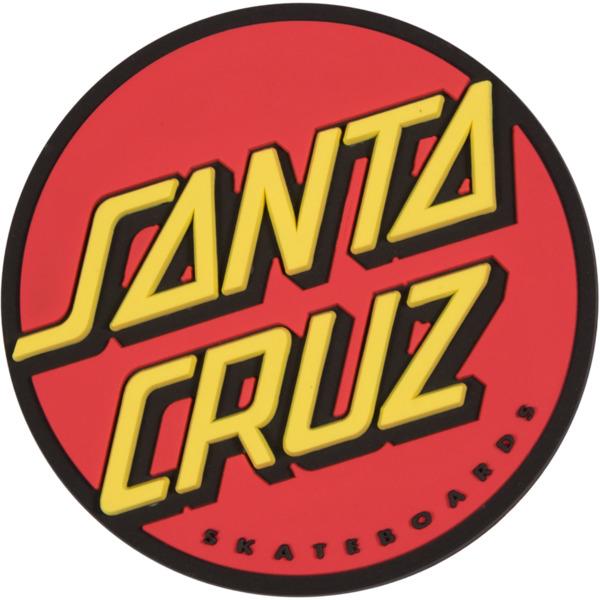Santa Cruz Skateboards Classic Dot Red Magnet