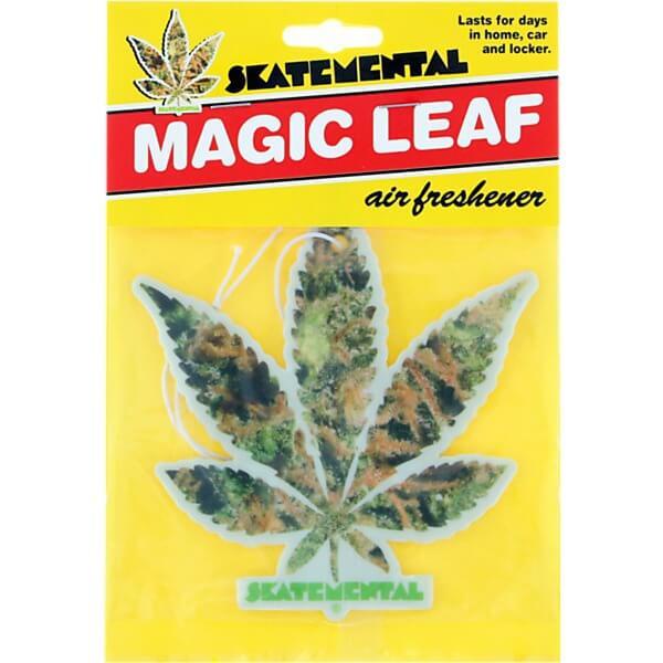Skate Mental Magic Leaf Weed Air Freshener Warehouse Skateboards