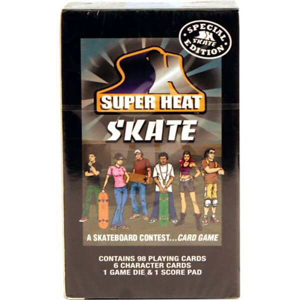 Super Heat Skate Card Game