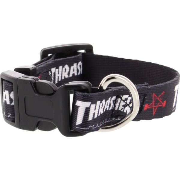 Thrasher Magazine Dog Collar Black Dog Collar
