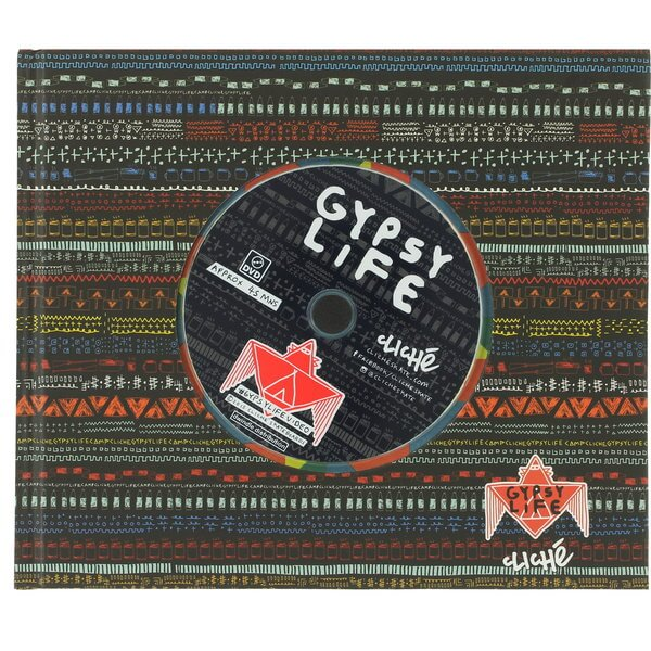 Cliche Skateboards Gypsy Life DVD and Book Limited Edition