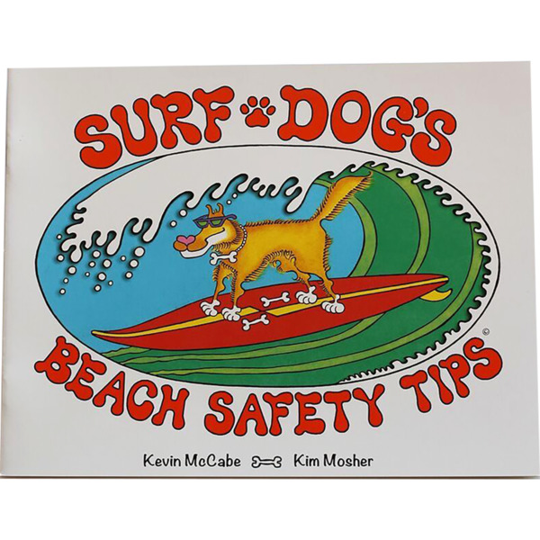 Miscellaneous Surf Dog's Beach Safety Tips Book Book