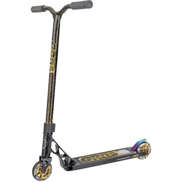 Grit Fluxx Satin Black / Gold Scooter Complete