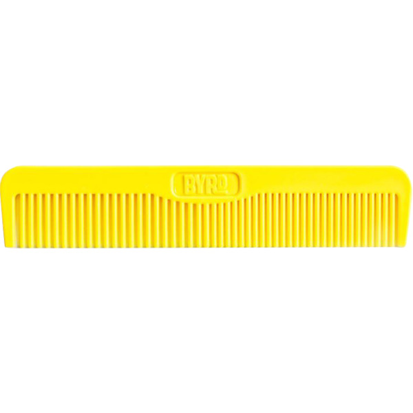 Byrd Hairdo Products Yellow Pocket Comb