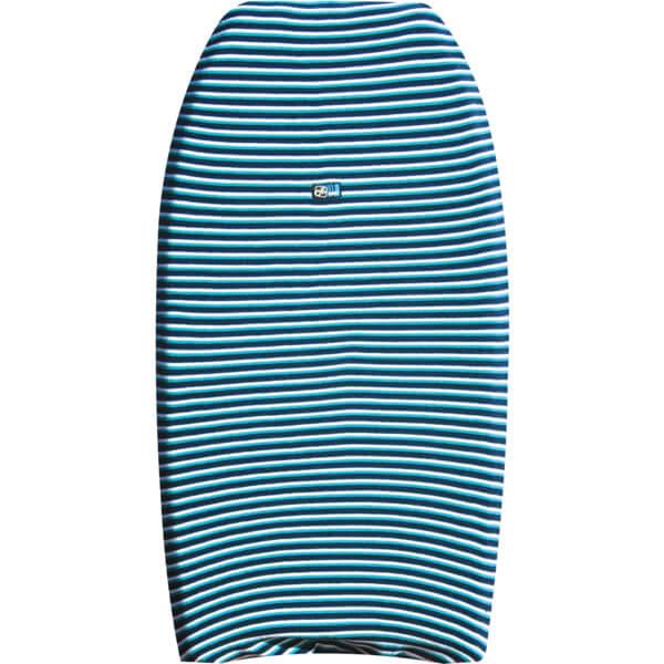 Ocean & Earth Bodyboard Blue Stripe Stretch Cover - Fits 1 Board