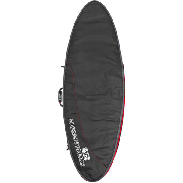 "Ocean & Earth Compact Day Black Fish Surfboard Bag - Fits 1 Board - 24.5"" x 5'8"""