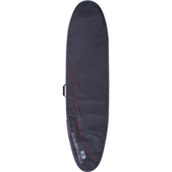 "Ocean & Earth Aircon Black / Red Longboard Surfboard Bag - Fits 1 Board - 26"" x 8'6"""
