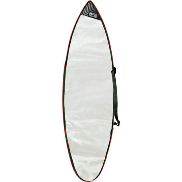 "Ocean & Earth Barry Gusset Compact Silver Shortboard Board Bag - Fits 1 Board - 22.5"" x 7'"
