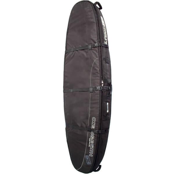 "Ocean & Earth Double Coffin Black / Grey Shortboard Board Bag - 1-3 Boards - 23"" x 6'6"""