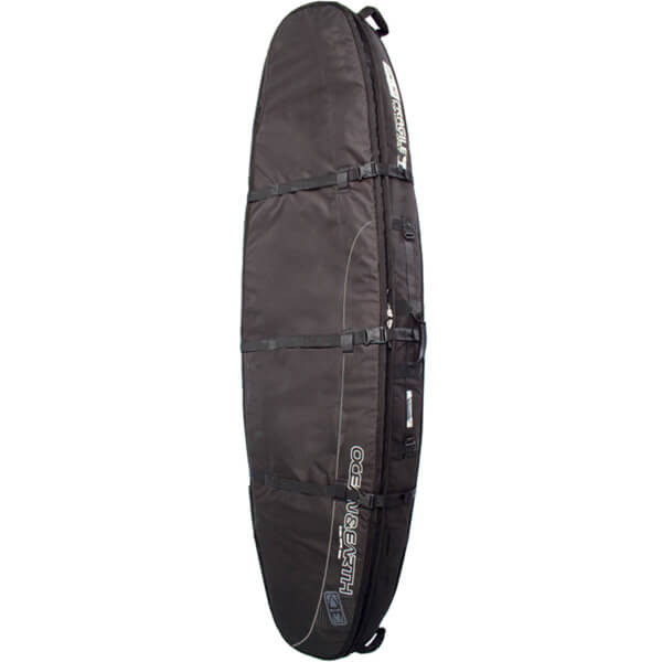 "Ocean & Earth Double Coffin Black / Grey Shortboard Board Bag - 1-3 Boards - 23"" x 7'"