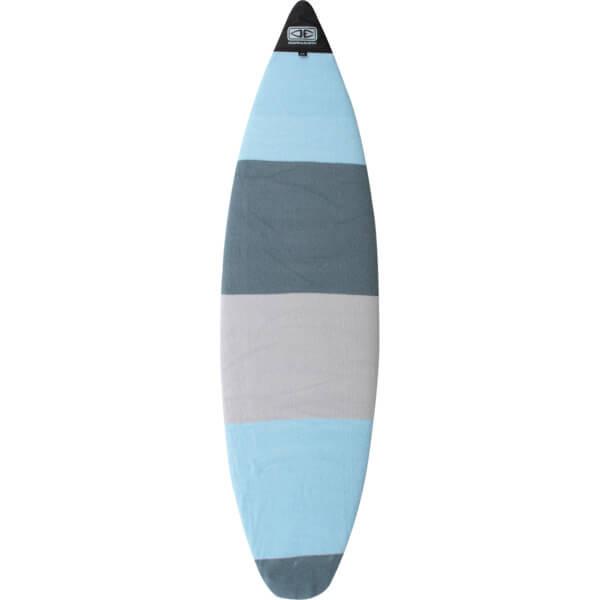 Ocean & Earth Shortboard Stretch Blue Stripe Shortboard Board Sock - Fits 1 Board - 7'