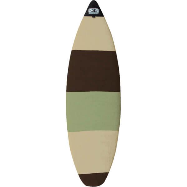 Ocean & Earth Stretch SOX Camo Stripe Shortboard Sock - Fits 1 Board - 7'