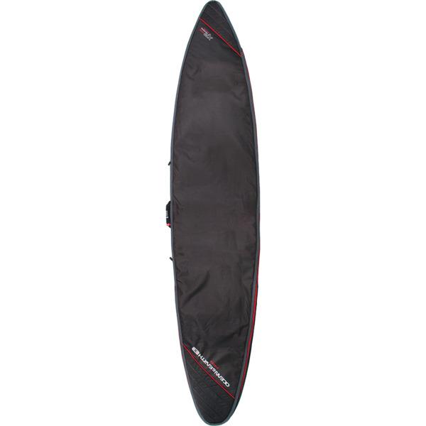 "Ocean & Earth Aircon Black / Red Gun Surboard Bag - Fits 1 Board - 8'6"""