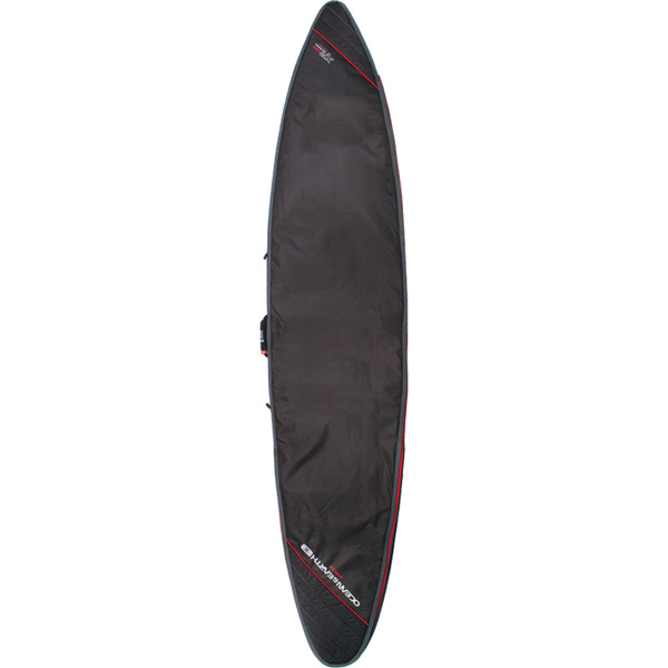 Ocean & Earth Aircon Black / Red Gun Surboard Bag - Fits 1 Board - 9'6""