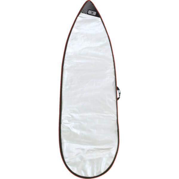 "Ocean & Earth Barry Basic Silver Shortboard Board Bag - Fits 1 Board - 24"" x 5'4"""