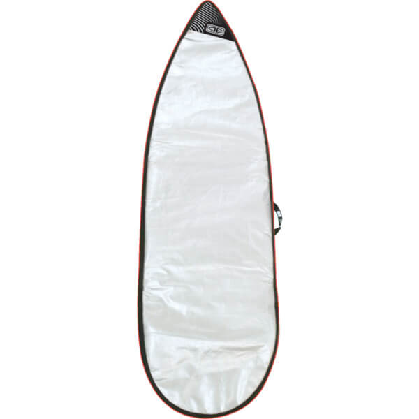 "Ocean & Earth Barry Basic Silver Shortboard Board Bag - Fits 1 Board - 24"" x 6'8"""
