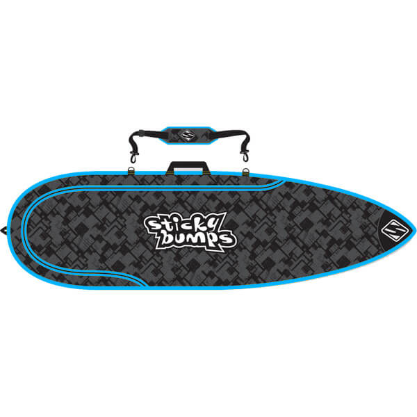 Sticky Bumps Single Thruster Surfboard Bag - 5'