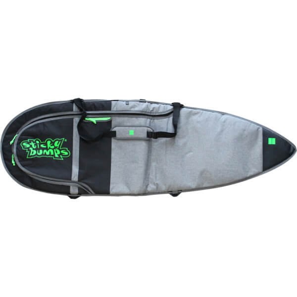 "Sticky Bumps Dayrunner Grey Thruster Surfboard Day Bag - 5'8"""