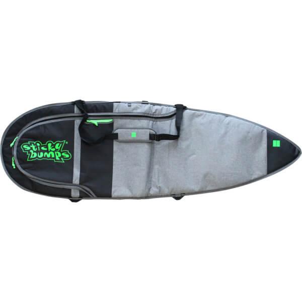 "Sticky Bumps Dayrunner Grey Thruster Surfboard Day Bag - 7'6"""